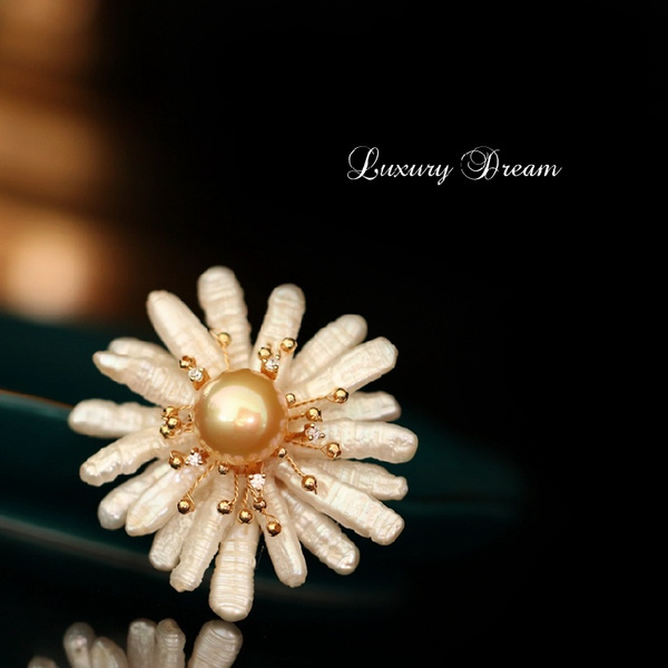 lotusbrooch, Design, Fashion, chrysanthemumbrooch