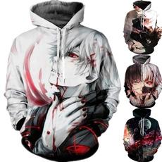 Fashion, tokyoghoulssweatshirt, Fashion Hoodies, anime hoodie