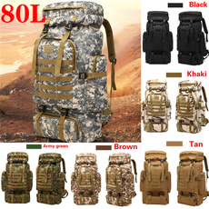 Camping Backpacks, Outdoor, Capacity, Hiking