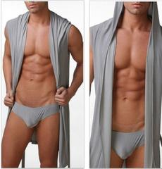 menbeachwear, hooded, mensleepwear, Men