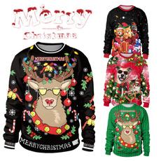 Moda, Invierno, pullover sweater, christmassweater