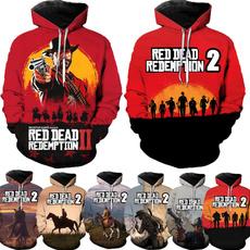 Fashion, gamehoodie, Long Sleeve, anime hoodie