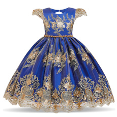 gowns, kids clothes, Lace, kidslacefloradres