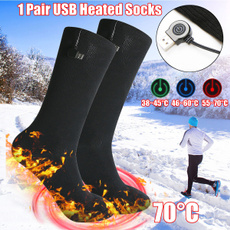 wintersock, Cotton Socks, feetwarmer, usb