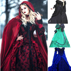 gowns, GOTHIC DRESS, Cosplay, Medieval