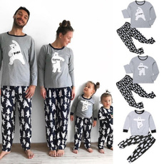 nightwear, Christmas, Family, Long Sleeve