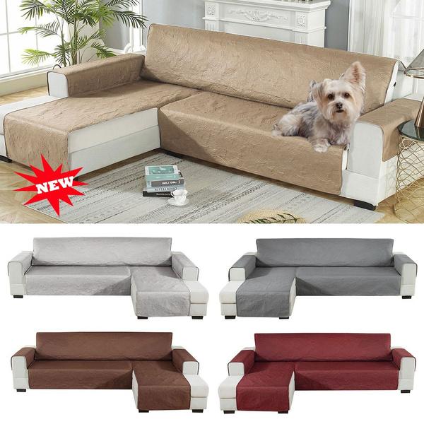 L Shape Pets Sofa Slipcover Waterproof