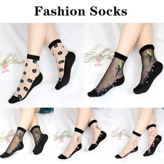 woven, Cotton Socks, crystalsock, Crystal
