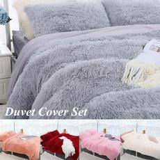 plushduvetcover, queensizebeddingset, velvet, Winter