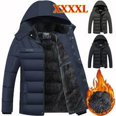 Jacket, warm coat, Plus Size, Winter