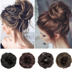 Hairpieces, pony, Elastic, chignon