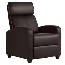 singlechair, brown, Adjustable, reclinerchair