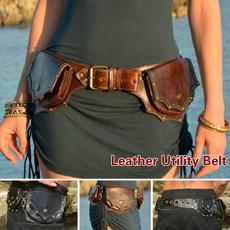 hipbag, Leather belt, Medieval, Belt Bag