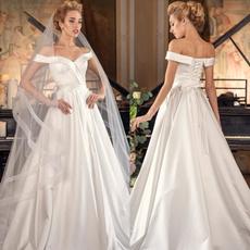 gowns, strapless, Plus Size, Bride