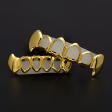 Punk jewelry, hip hop jewelry, Jewelry, gold