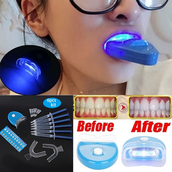 Blue Light Teeth Whitener Care Lamp Blue Light Accelerated Catalytic Whitening Lamp Oral Care Instrument Wish