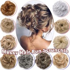 hairchignon, hairscrunchie, hairbun, Hair Extensions