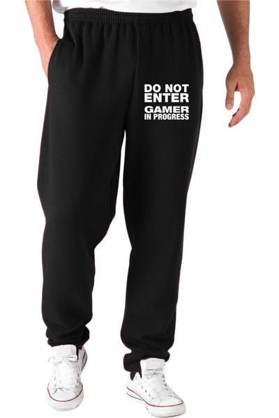 pantalonijogging, black, pantaloniconstampa, pantaloni