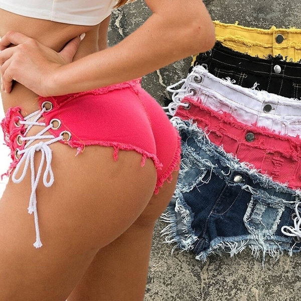 Summer, Panties, plus size jeans, Casual pants