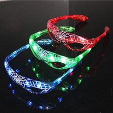 Toy, led, ledeyeglasse, Spiderman