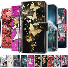 leather wallet, Colorful, samsunggalaxya502019case, samsunggalaxya72018case