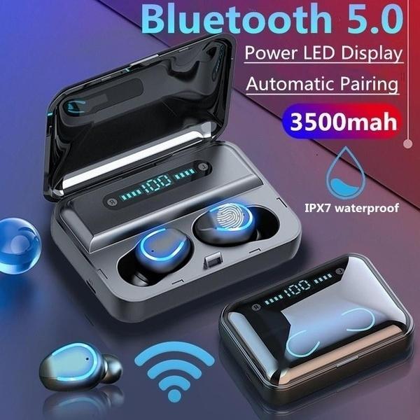 2020 New F9 5 Tws Bluetooth 5 0 Headset True Wireless Headphone Stereo Earphones Earbuds Wish