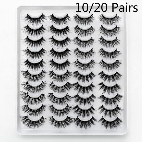 Eyelashes, False Eyelashes, Natural, Beauty
