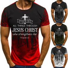 christiantshirt, Plus size top, jesusshirt, print t-shirt