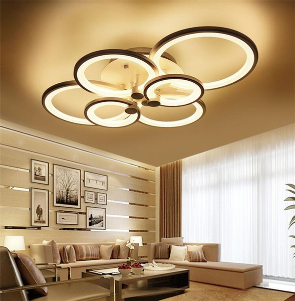 Acrylic Modern LED Lamp Chandelier Light For Living Room