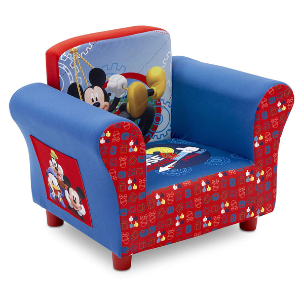 Delta Children Upholstered Chair Disney Mickey Mouse