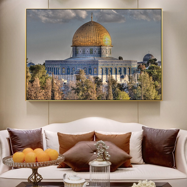 Dome Of The Rock Wall Art Posters