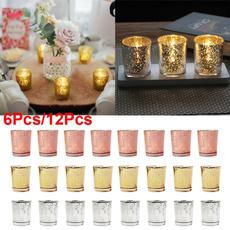glasscup, Candleholders, Home Decor, tealightholder
