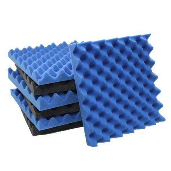 Charcoal Egg Crate Foam Acoustic Tiles