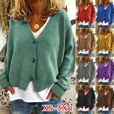 blouse, Plus Size, Winter, cardigan