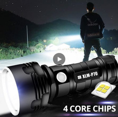 Flashlight, waterprooflight, usb, camping
