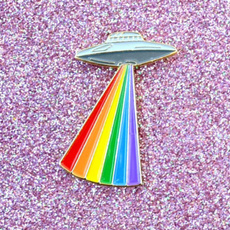 alien, Pins & Brooches, Pins, gay