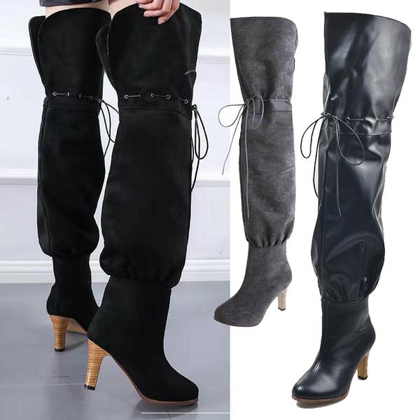 Large Size Thigh High Boots Cheap C08b3 Faa74