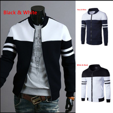 oneckmensjacket, Polyester, zippermensjacket, Sleeve
