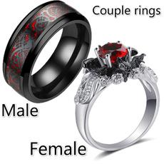 Couple Rings, Steel, Jewelry, titanium steel rings