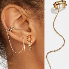 DIAMOND, Jewelry, gold, Earring