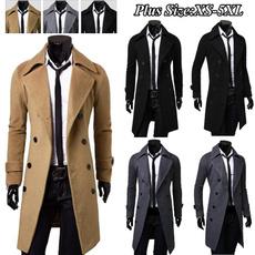 woolen coat, Plus Size, winterjacketsmen, Winter