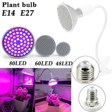 48//60//80 220V TBD Grow Light E27 Lamp Bulb for Plant Hydroponic Full Spectrum EC