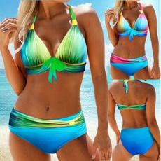 bathing suit, two piece swimsuit, bikini set, sexy bikini