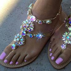 Summer, Flip Flops, Sandalias, Women Sandals