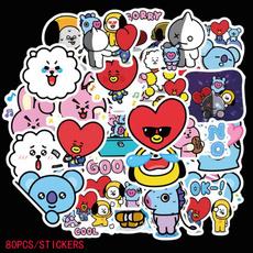 K-Pop, Fashion, Luggage, Stickers