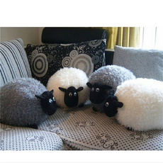 Sheep, Gray, Toy, cute