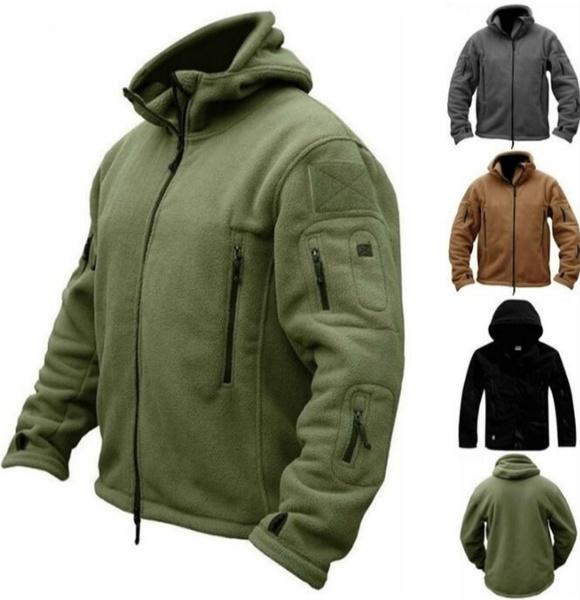 Fleece, mountaineeringjacket, hooded, militaryjacket