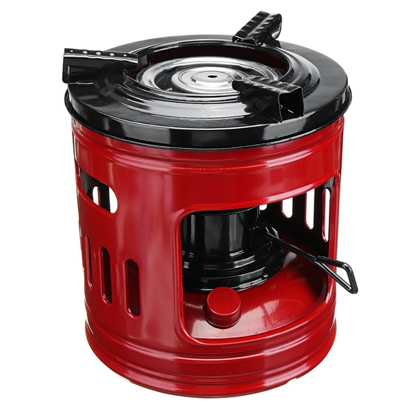 Outdoor Portable Cooking Stove Camping Pocket 8 Wick Kerosene