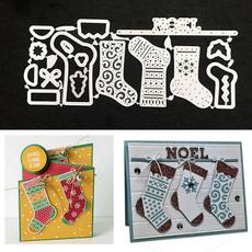 Stockings, Christmas, scrapbookingamppapercraft, metalcuttingdie