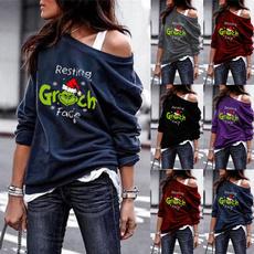 blouse, Funny, grinchchristmasshirt, Shirt
